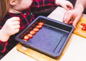 Przygotowanie truskawek do liofilizacji